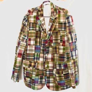 Ralph Lauren Polo Madras Jacket XL